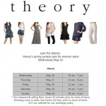 Theory Sample Sale May 2012