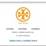 Tory Burch Sample Sale June 2012